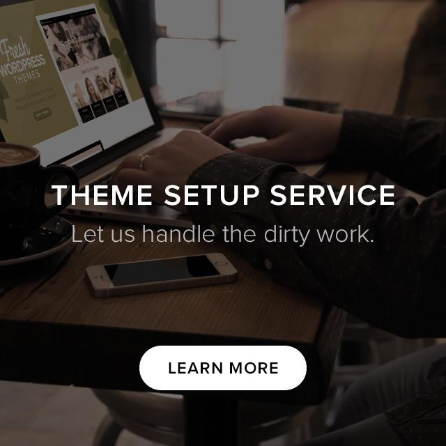 Theme Setup Service