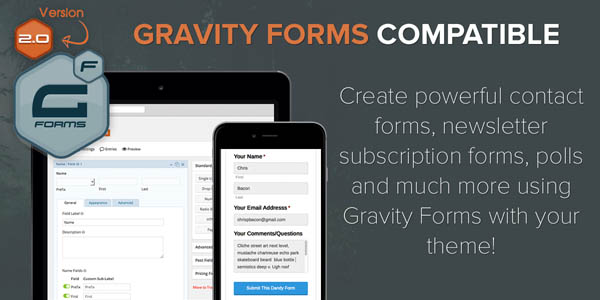 Gravity Forms Compatible