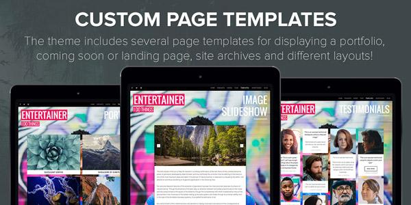 Custom Page Templates