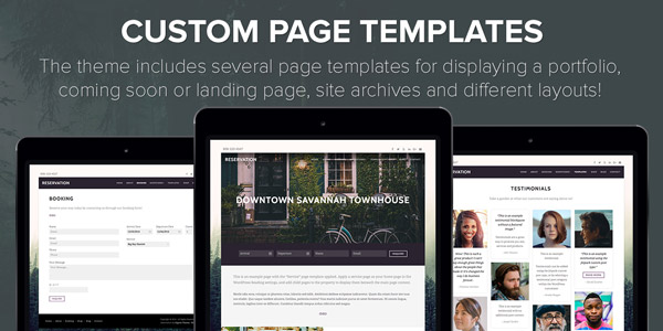 Custom Page Templates