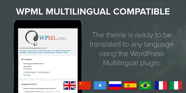 WPML Multilingual Compatible