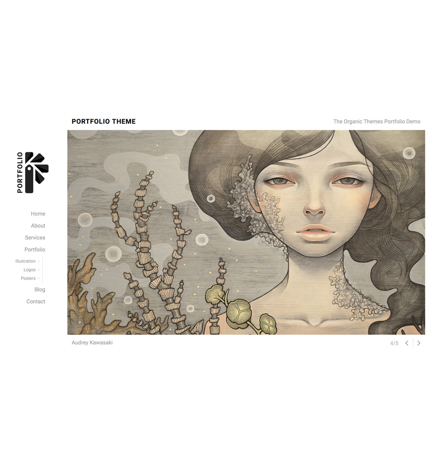 Portfolio Theme A Wordpress Theme For Artists And Designers