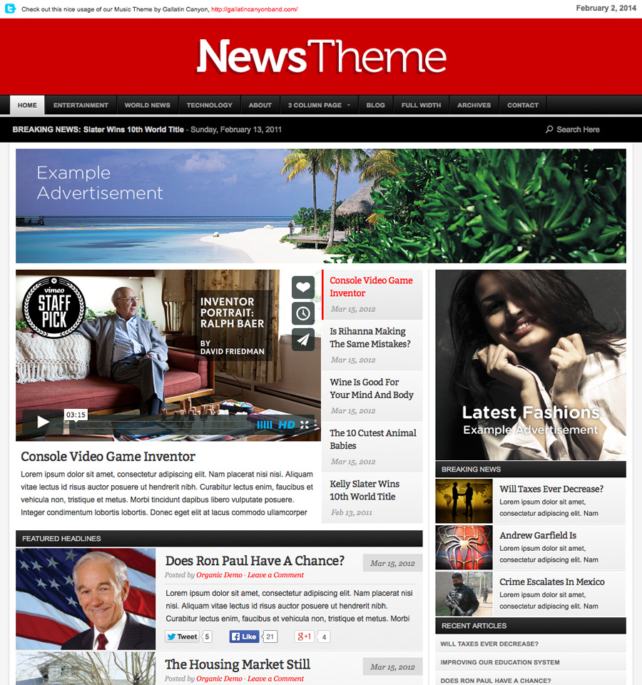 news-wordpress-theme
