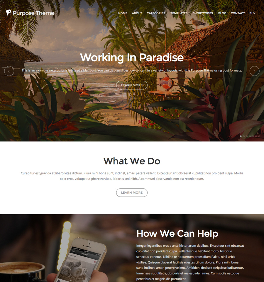 purpose-wordpress-theme