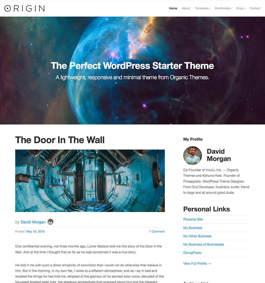 origin-wordpress-theme