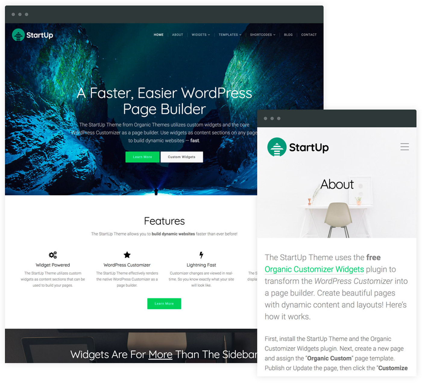 Startup theme documentation beautiful responsive wordpress startup theme documentation pronofoot35fo Image collections