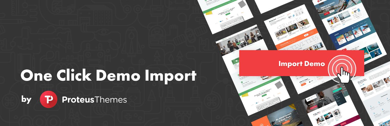 One Click Demo Import Plugin
