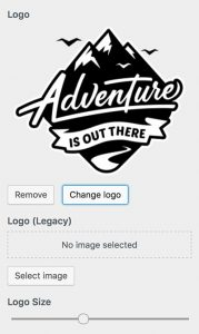 Adventure Theme Logo Option